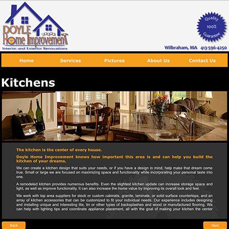 Doyle Home Improvement | Tiger Web Designs v3.2.0